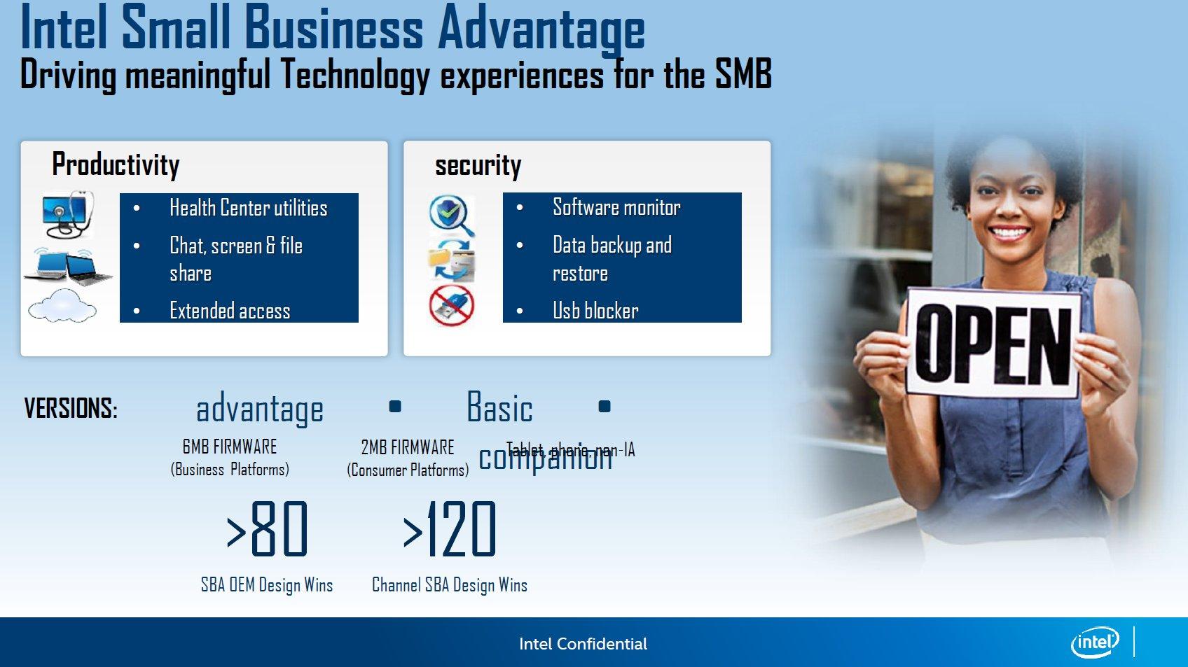 Intel Small Business Advantage