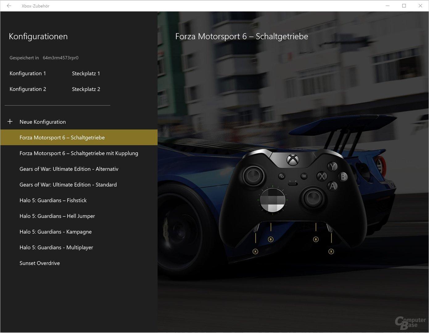 Microsoft bietet bereits vorgefertigte Profile an