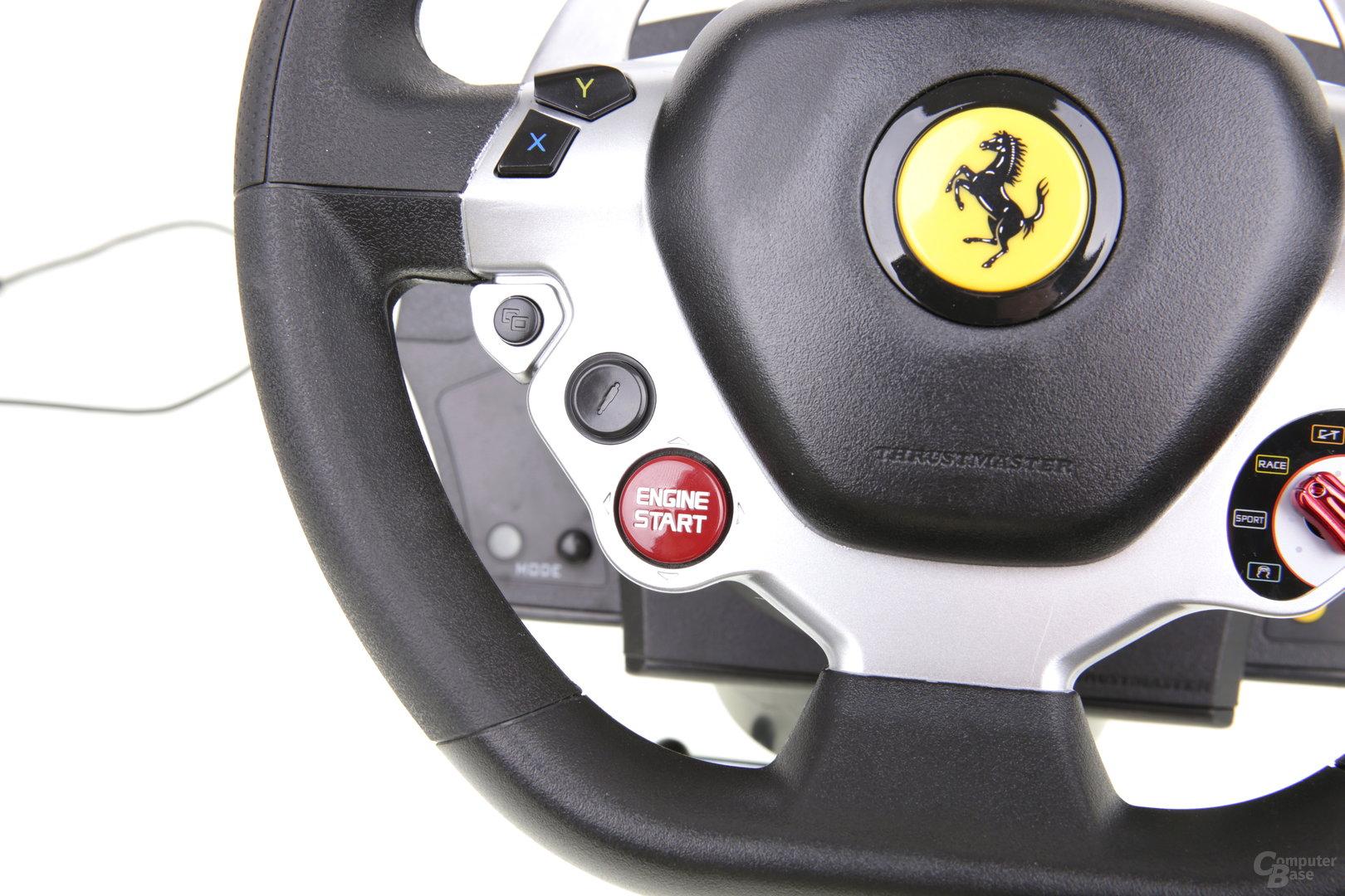 Thrustmaster TX Ferrari 458 - Joystick-Start-Knopf