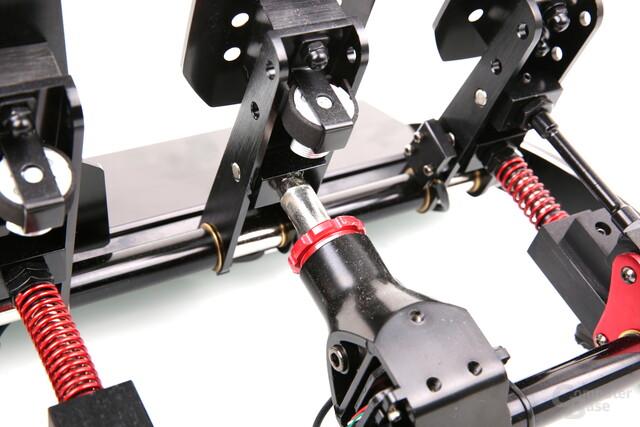 Fanatec ClubSport Pedale V3 - Load-Cell-Bremse mit verstellbarer Steifigkeit