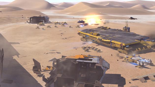 Deserts of Kharak im Test: Homeworld in der Wüste