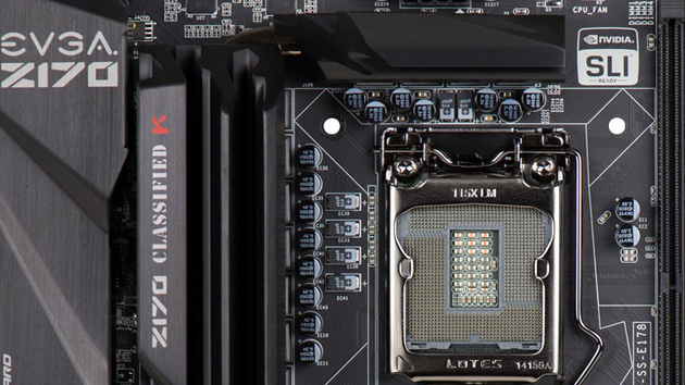 EVGA Z170 Classified K: Overclocking-Mainboard mit Killer-NIC auch für Spieler