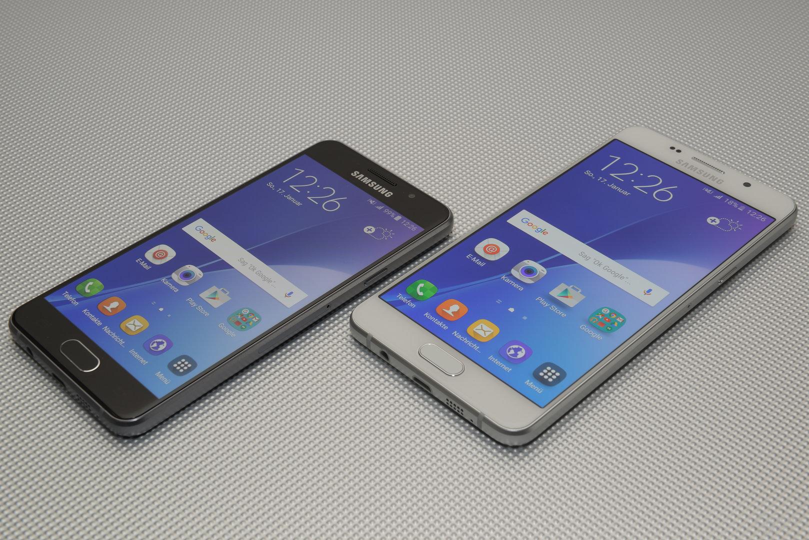Samsung Galaxy A3 und A5 (2016) im Test