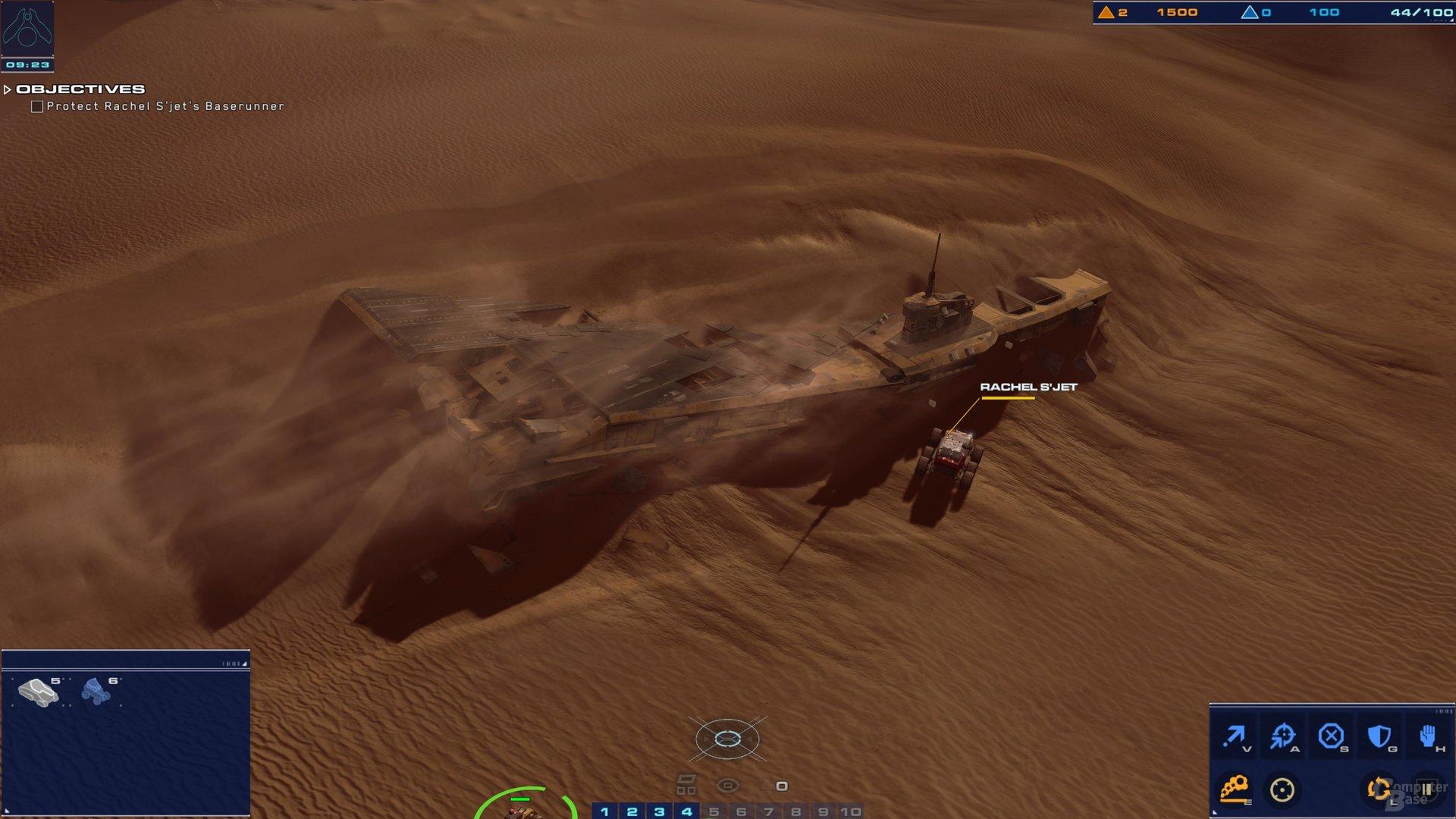 Die Wüste hält spannende Relikte aus All und Vergangenheit bereit