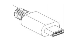 Der USB-C-Stecker hat ungefähr die Größe eines Micro-USB-B-Anschlusses, den man beispielsweise von Handyladekabeln kennt.