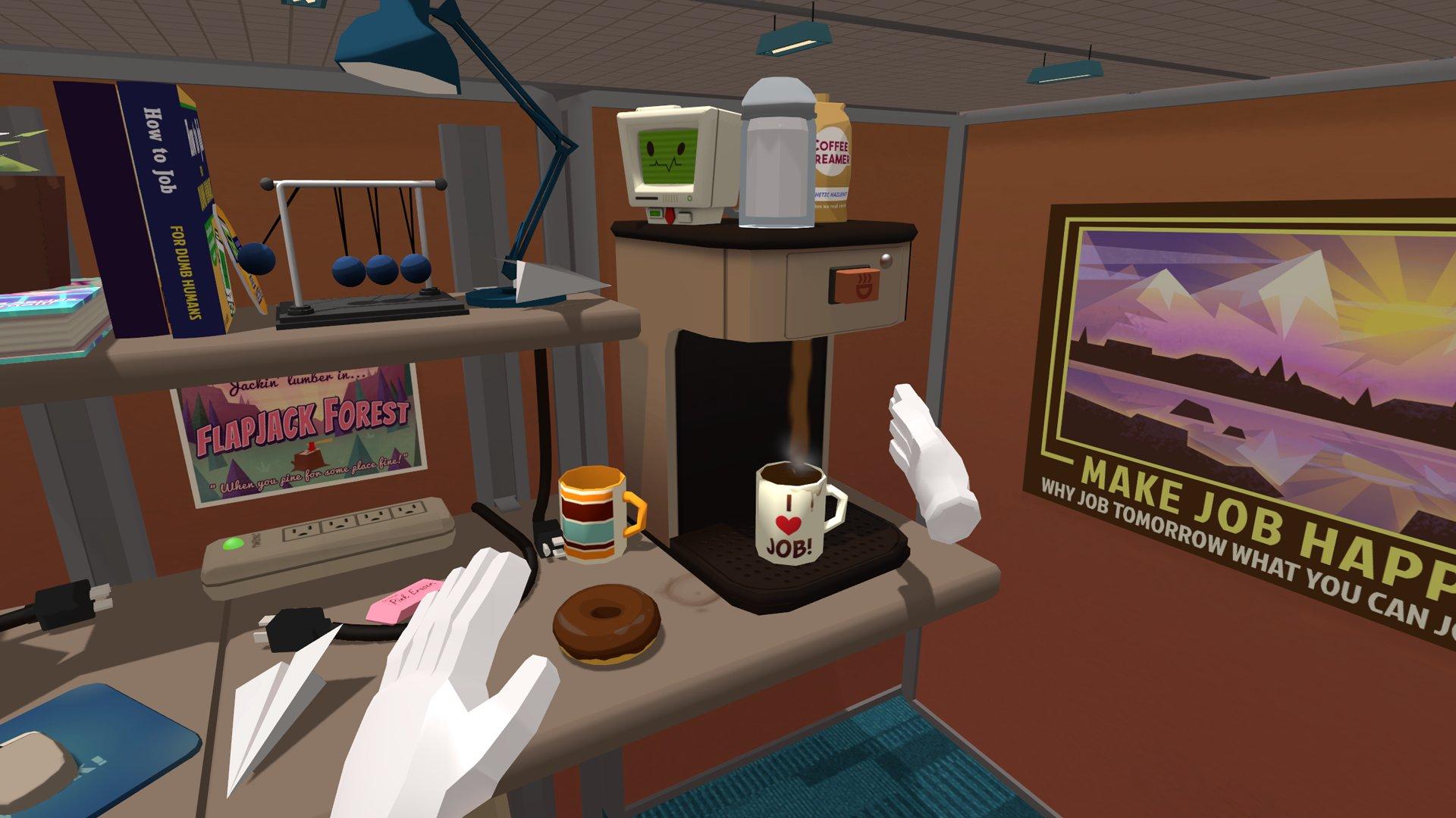 Job Simulator – Büro