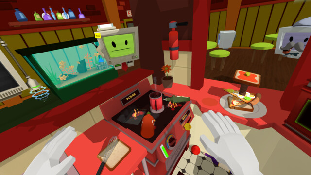 Job Simulator – Gourmetkoch-Demo