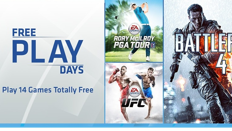 Free Play Days: Ab heute 5 Tage EA Access für Xbox Live Gold