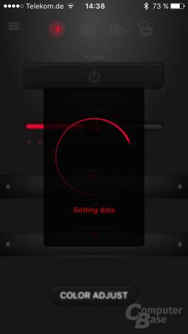 Eizo G-Ignition Appfür iOS