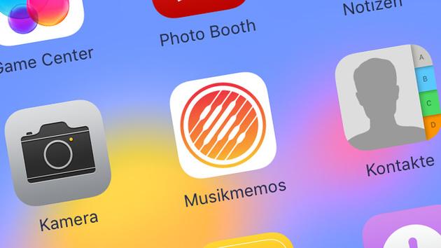 Apple Musikmemos: Kostenlose Notiz-App für Musiker
