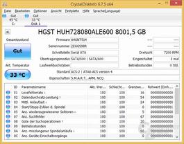 CrystalDiskInfo: HGST Ultrastar He8 8TB