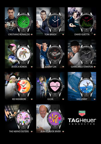 TAG Heuer Connected – neue Zifferblätter