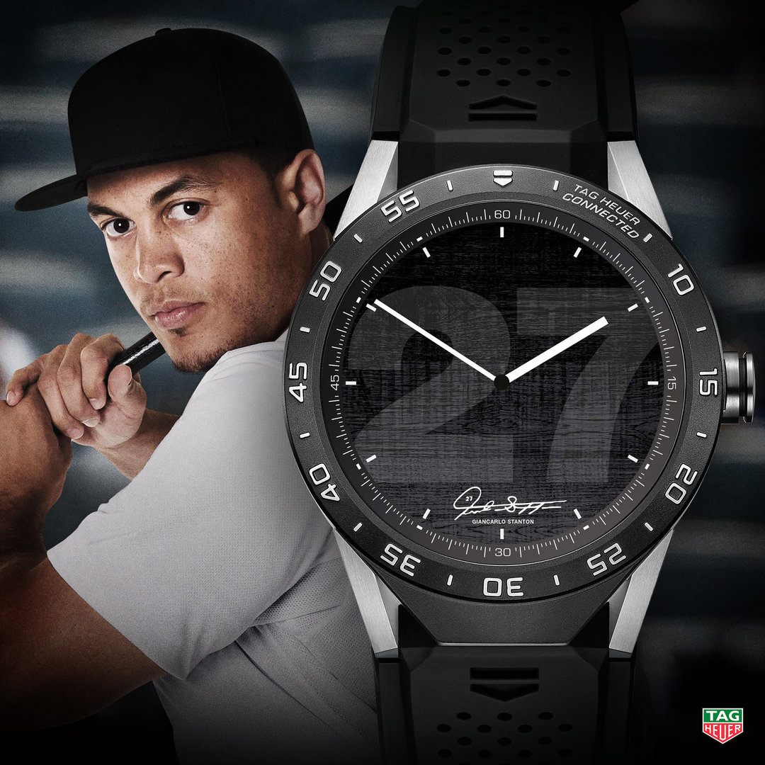 TAG Heuer Connected Watch Giancarlo Stanton