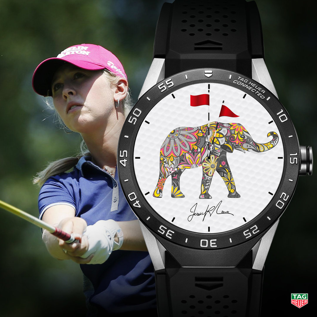 TAG Heuer Connected Watch Jessica Korda