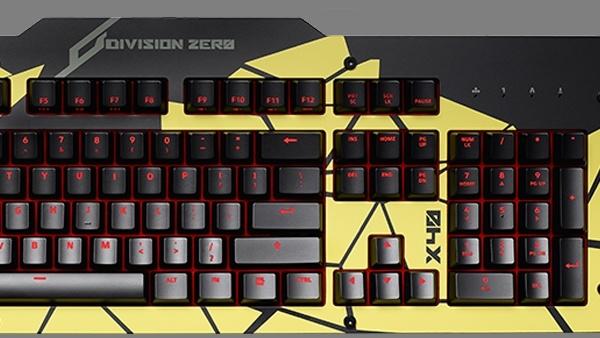 """Das Keyboard: Peripherie für Spieler heißt """"Division Zero"""""""