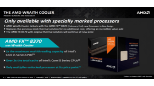 Wraith-Kühler von AMD zum Start nur für FX-8370