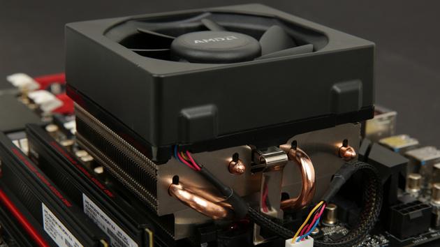 Wraith Kühler im Test: AMD begeistert mit neuem Boxed-Kühler