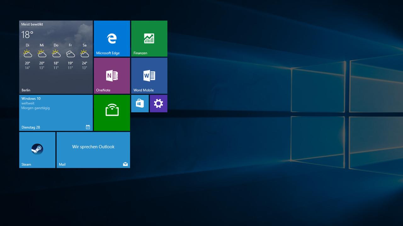 Windows 10: Build 14521 führt interne Versionsnummern zusammen
