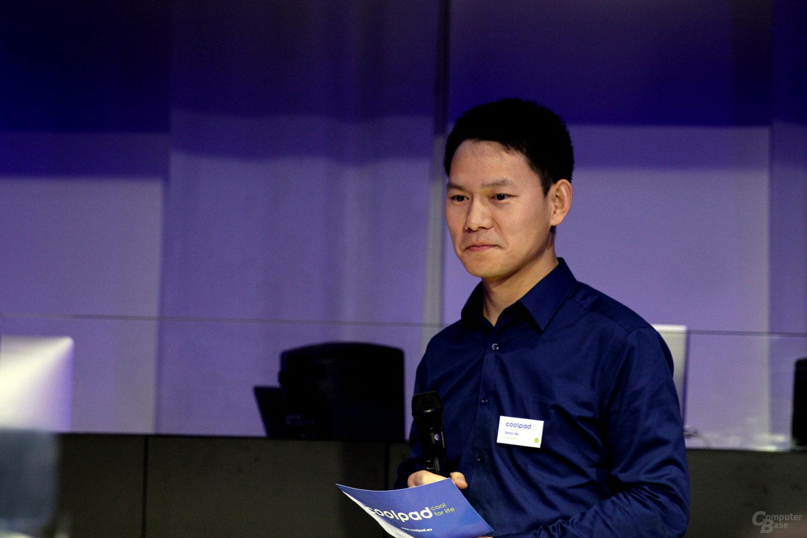 Denny Qiu, Head of European Business bei Coolpad