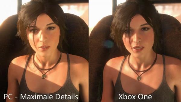 Rise of the Tomb Raider: Lara Croft im Grafikvergleich zwischen PC und Xbox One