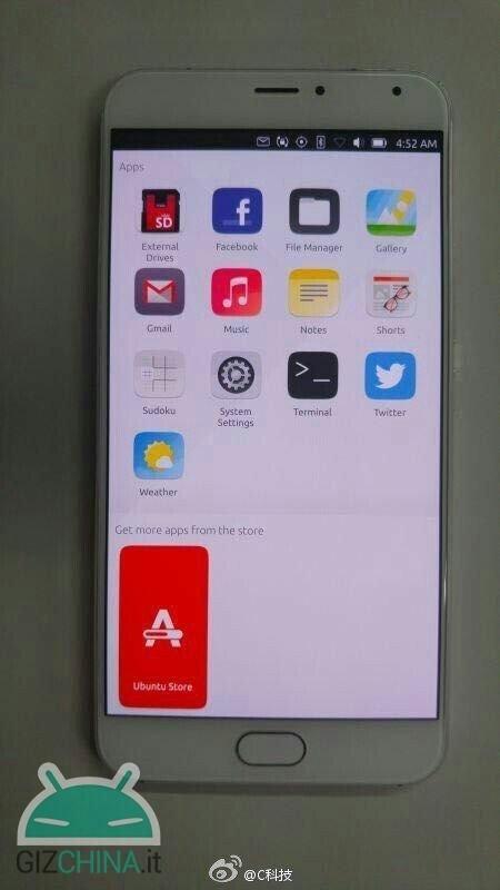 Meizu Pro 5 mit Ubuntu Touch