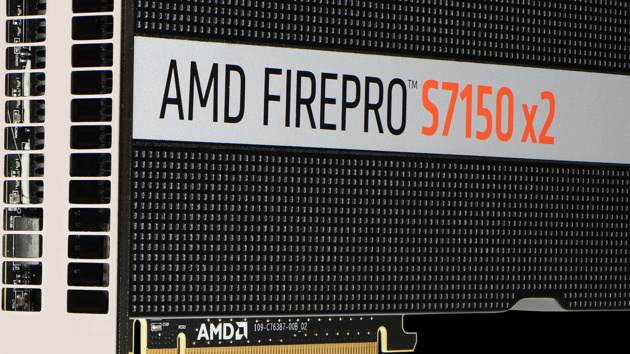AMD: FirePro S7150 X2 bringt Multi-GPU für Server-Profis