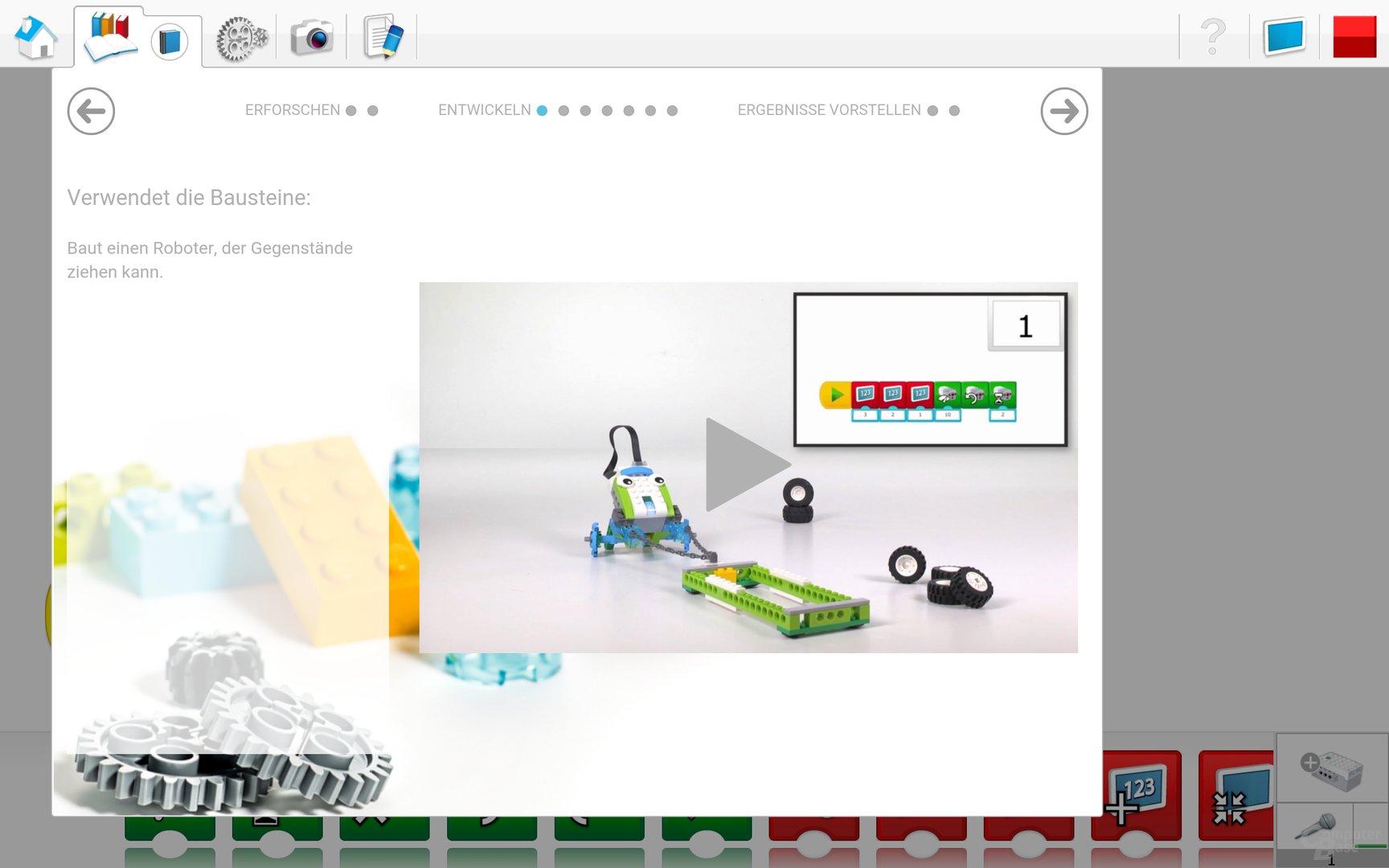 Lego WeDo 2.0 Android App – Entwickeln
