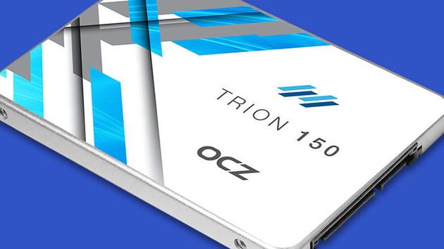 OCZ Trion 150: Aktuelles NAND mit doppelter Schreibrate ohne Cache