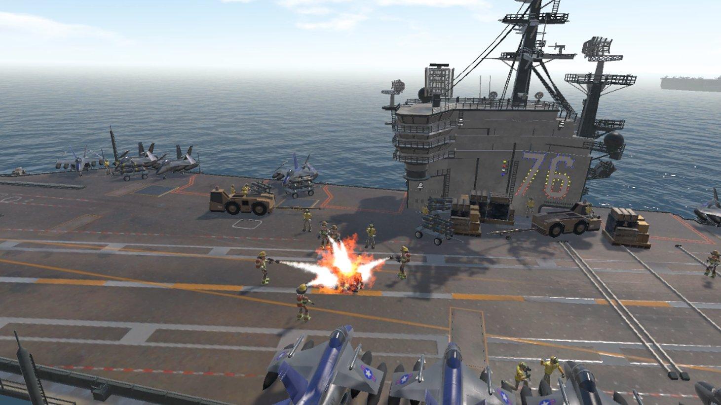 Final Approach – Flugzeugträger-Mission