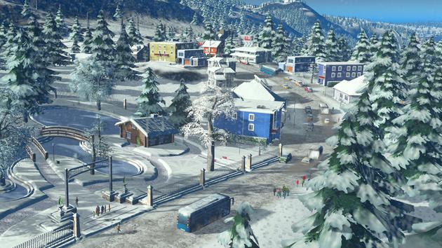 Termin: Cities: Skylines Snowfall erscheint am 18. Februar