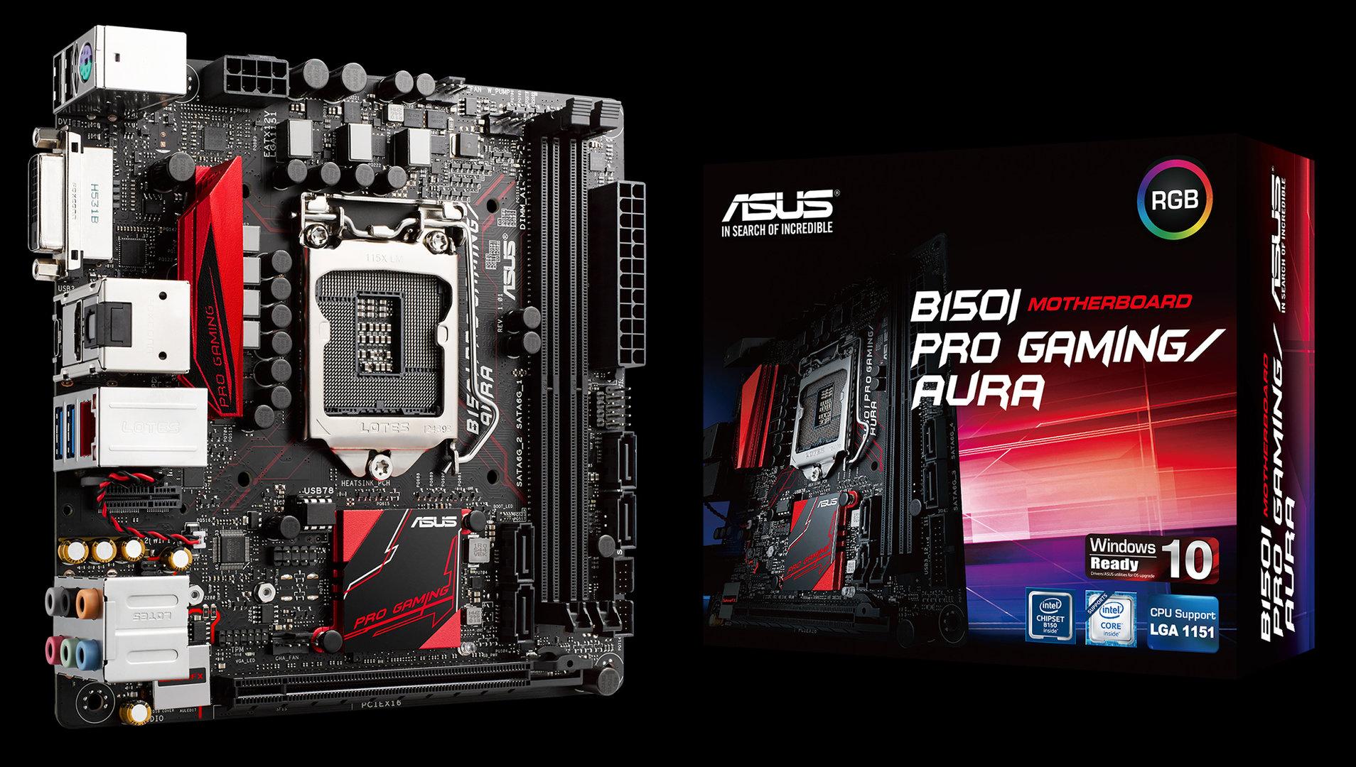 Asus B150I Pro Gaming/Aura