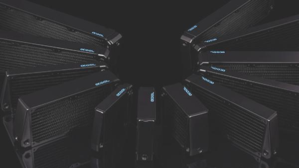 Alphacool: Radiatoren im X-Flow-Design mit höherem Durchfluss