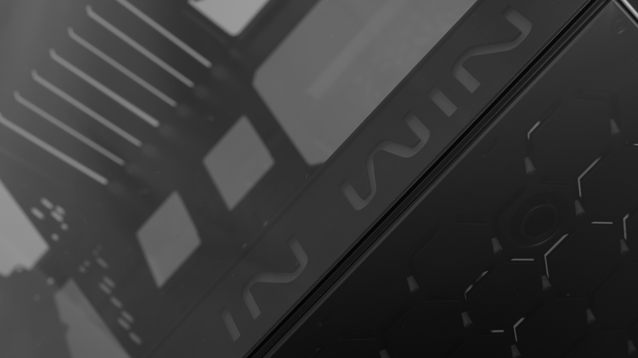 In Win 805 im Test: Ein echter Hingucker aus Glas und Aluminium