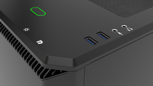 Eclipse P400 & P400S: Phanteks kombiniert RGB-Beleuchtung mit Midi-Tower