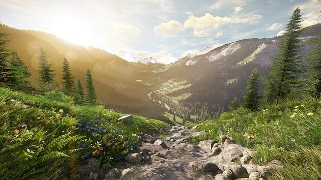 Lumberyard: Amazons kostenlose Spiele-Engine basiert auf CryEngine 3
