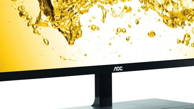 AOC U2879VF: Potenzial zum günstigsten UHD-Monitor mit 28 Zoll