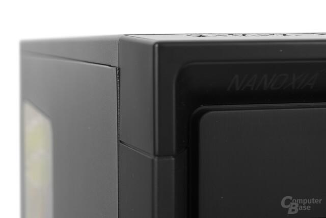 Nanoxia CoolForce 2 – Ungleichmäßige Spaltmaße