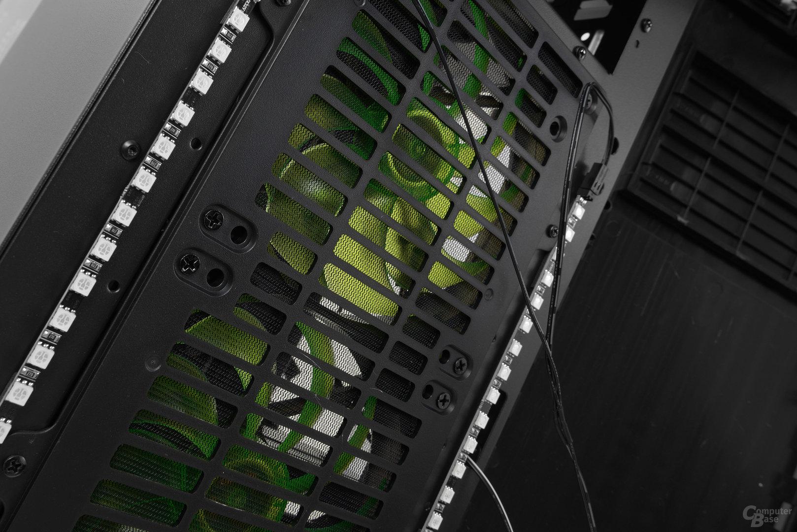 Nanoxia CoolForce 2 – Zwei LED-Striplights