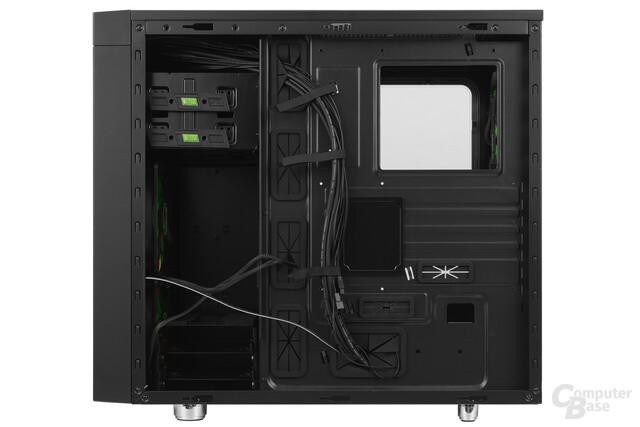 Nanoxia CoolForce 2 – Innenraumansicht Rückseite