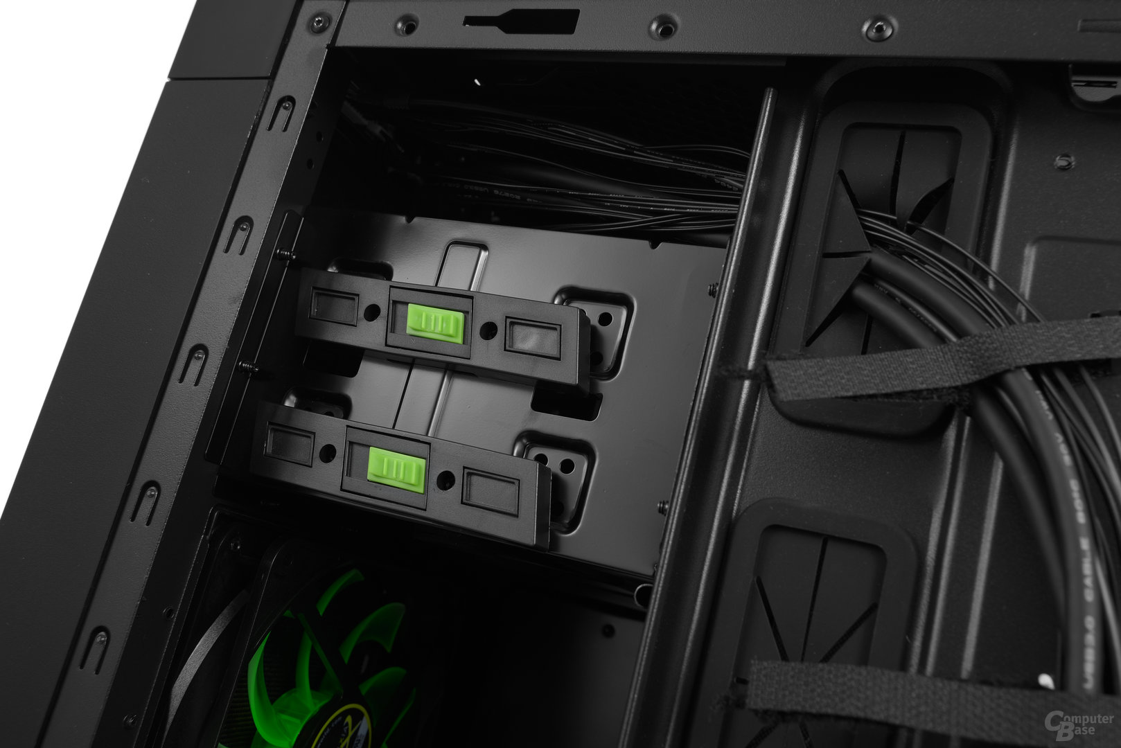 """Nanoxia CoolForce 2 – 5,25""""-Schnellverschlüsse"""