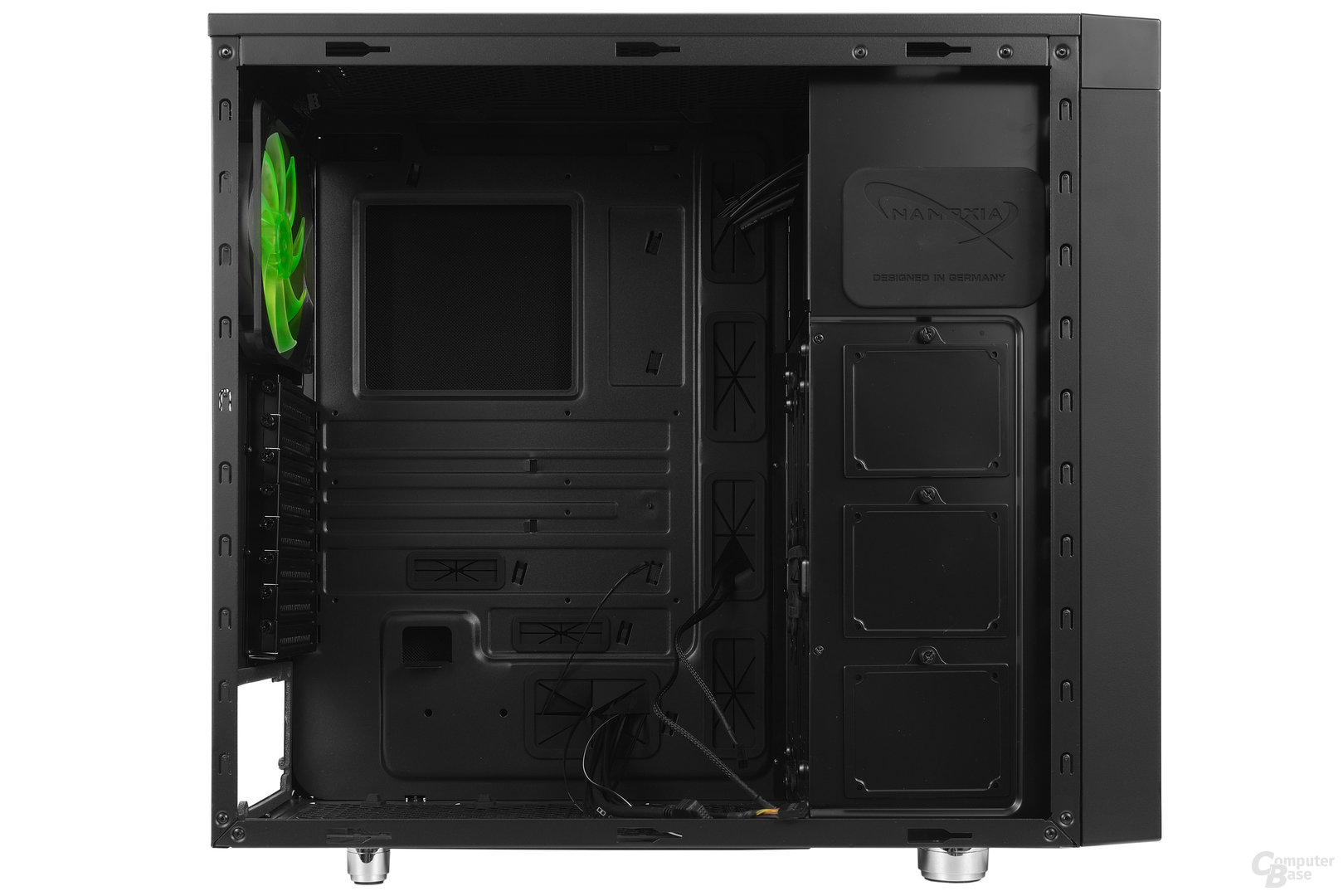 Nanoxia CoolForce 2 – Innenraumansicht