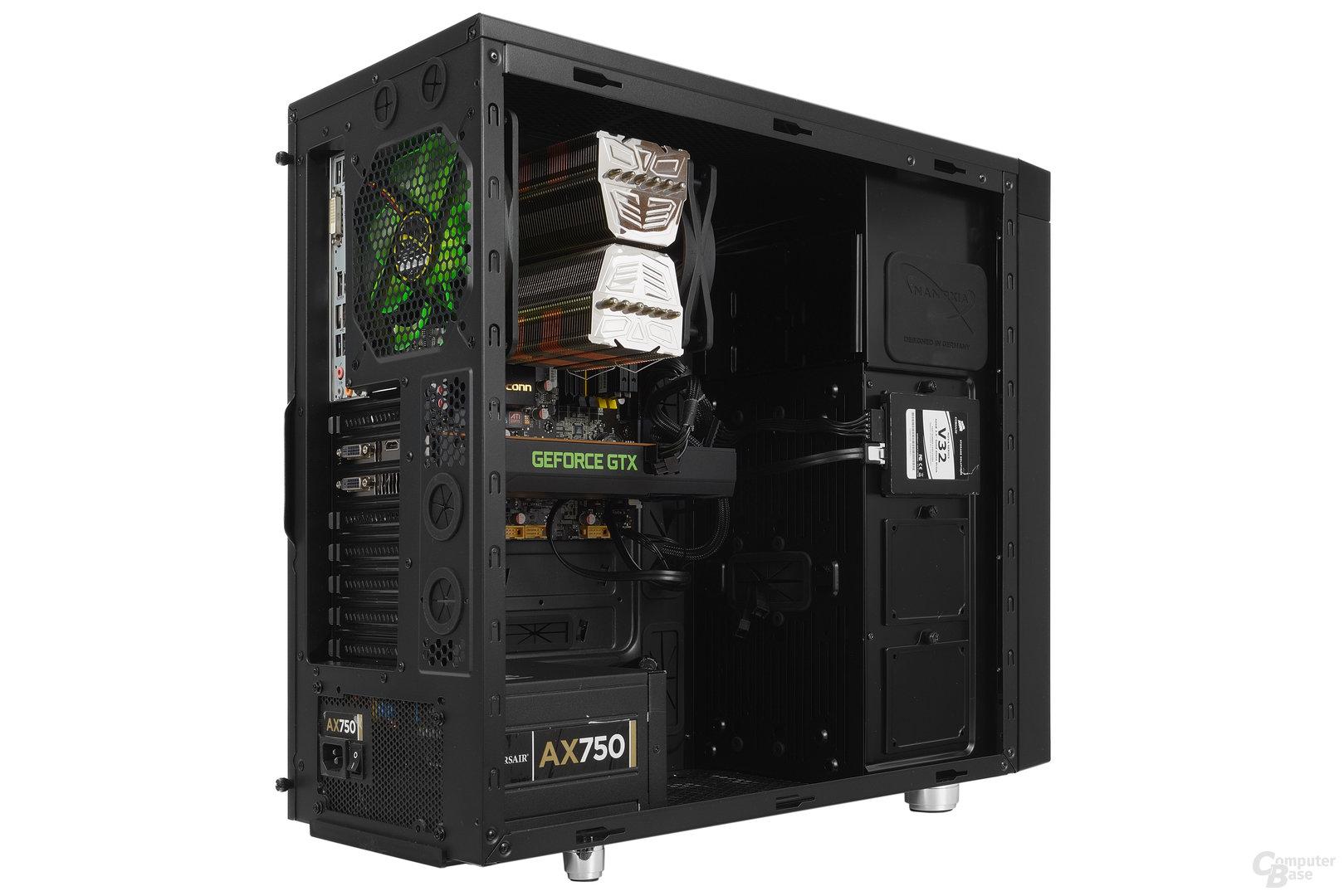 Nanoxia CoolForce 2 – Testsystem
