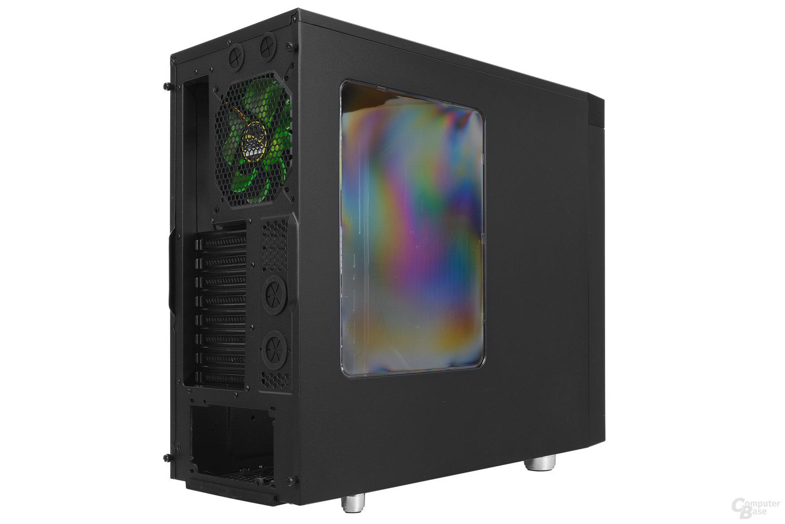 Nanoxia CoolForce 2 – Seitliche Heckansicht