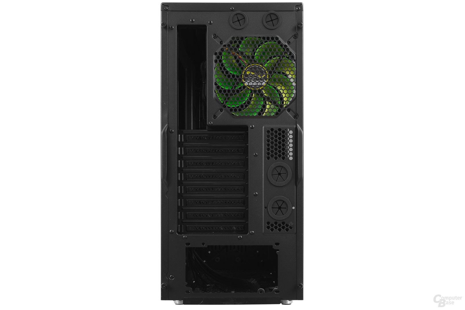 Nanoxia CoolForce 2 – Heckansicht
