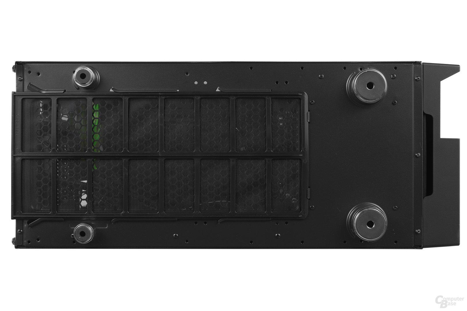 Nanoxia CoolForce 2 – Untersicht