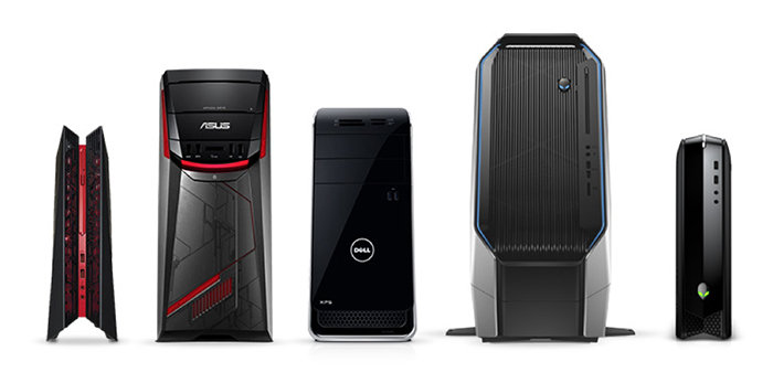 Asus ROG G20CB, Asus G11CD, Dell XPS 8900 SE, Alienware Area 51, Alienware X51 R3
