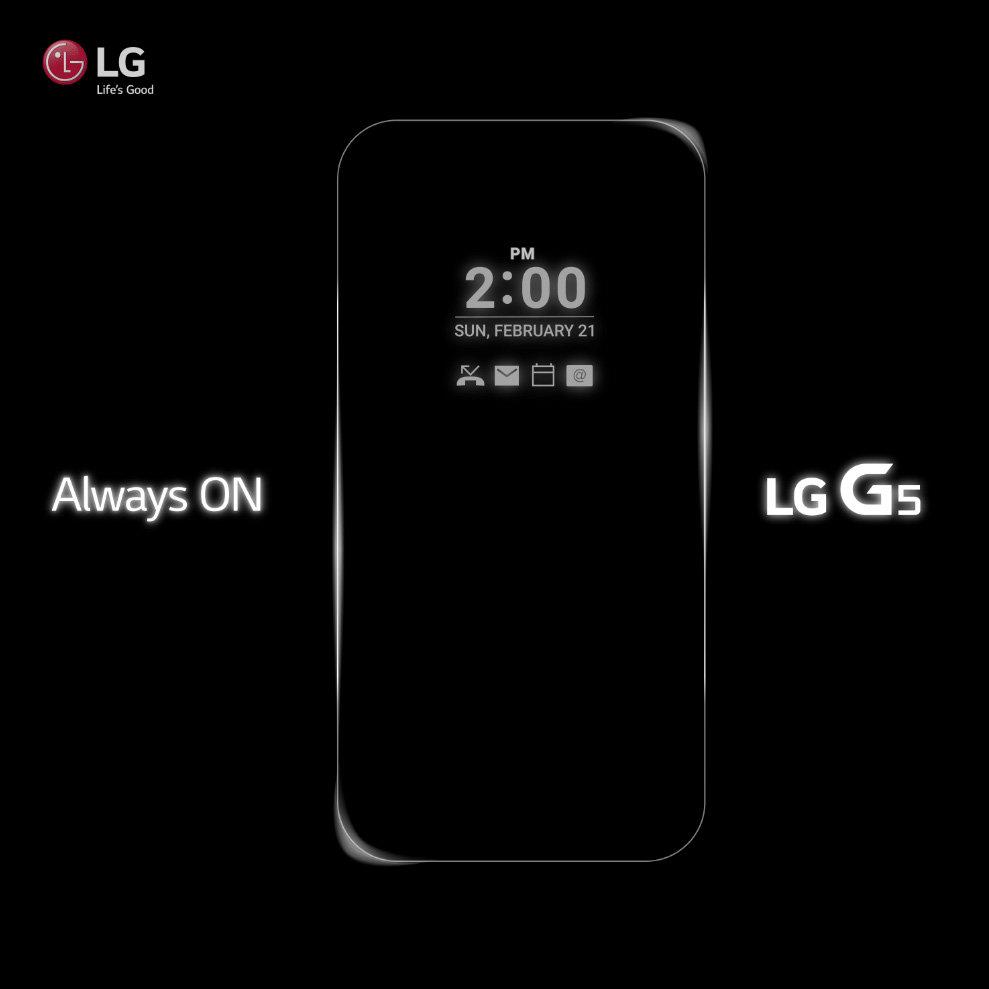 Always-On-Display beim LG G5