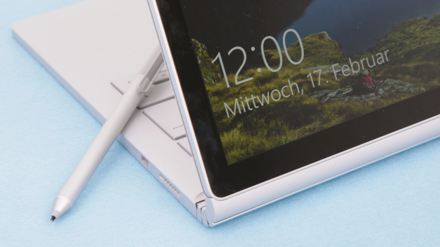 Surface Book Core i7 im Test: Notebook mit Tablet, GeForce und Macken