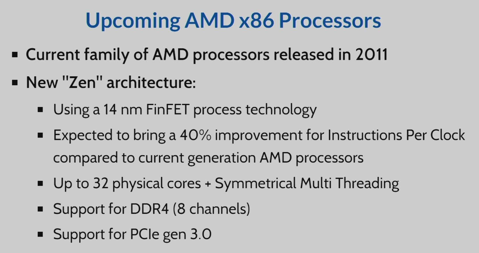 AMD Zen mit 32 Kernen