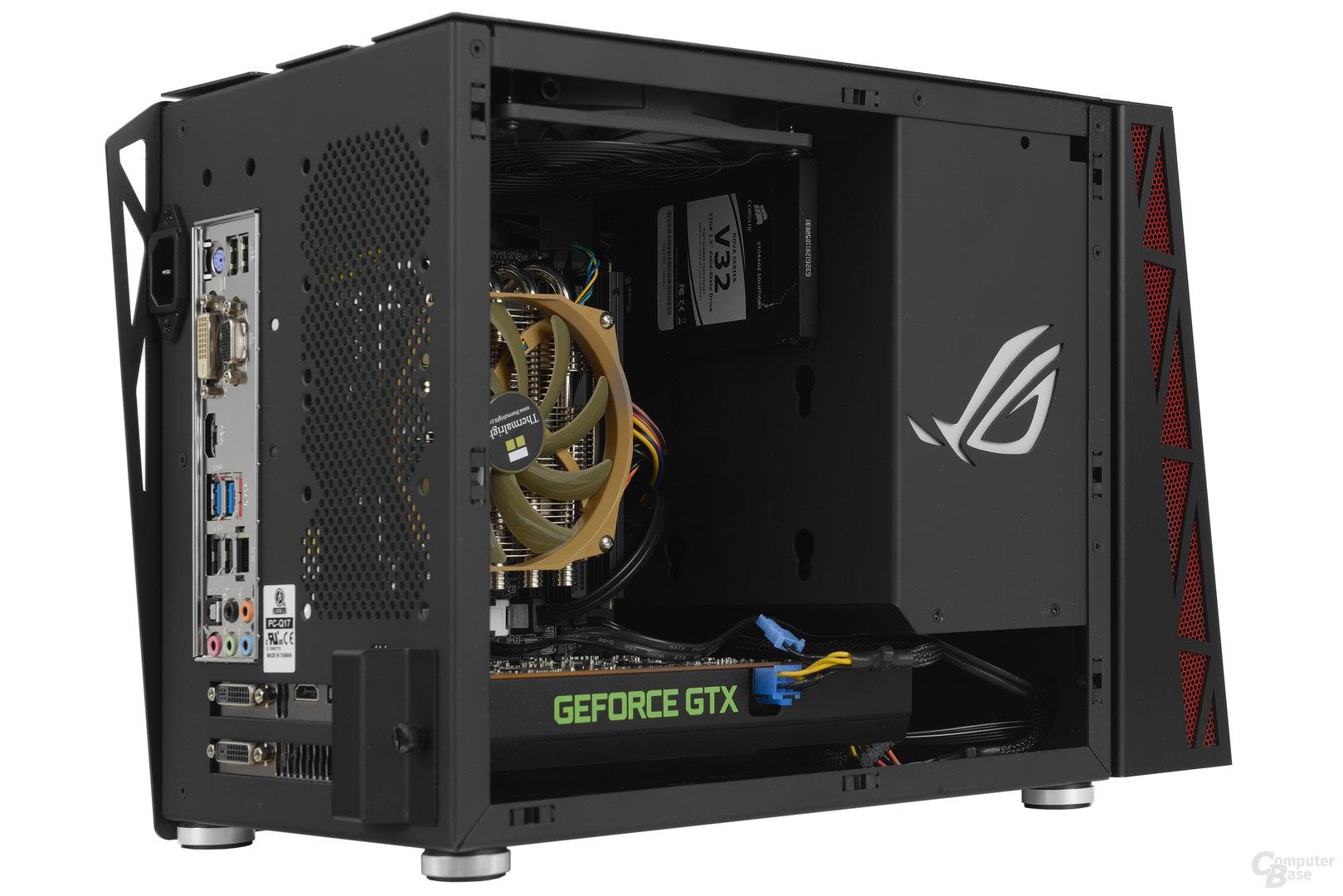 Lian Li PC-Q17 – Testsystem